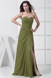olive green bridesmaid dress modest a line sweetheart With olive green wedding dress