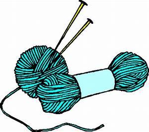 free clip art knitting needles and yarn id-48321 | Clipart ...