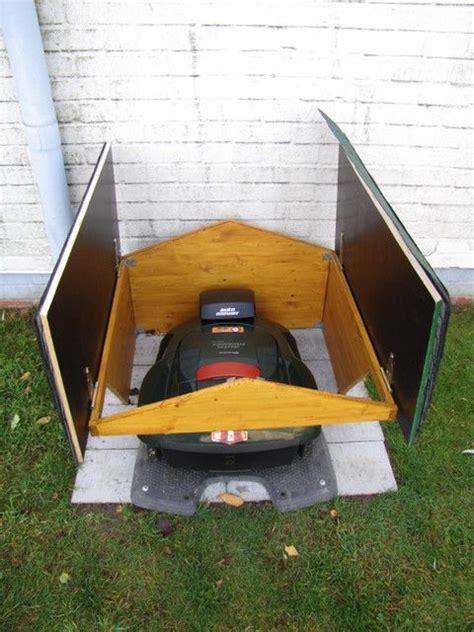 Rasenmä Roboter Garage Mit Tor by Pin Pieter Schreuder Auf Garden Rasenm 228 Roboter