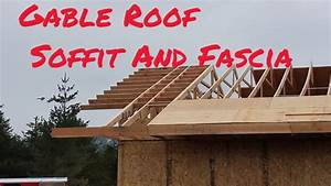Gable Roof Soffit And Fascia