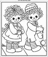 Coloring Pages Raggedy Ann Doll Andy Rag Printable Bing Colouring Antique Drawing Patterns Sheets Quilt Embroidery Template Adult Animal Stitch sketch template
