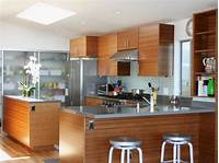 contemporary kitchen cabinets Bamboo Kitchen Cabinets: Pictures, Ideas & Tips From HGTV ...