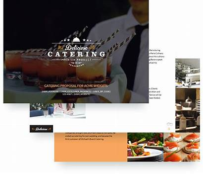 Catering Proposal Template Templates Event Sample Hospitality