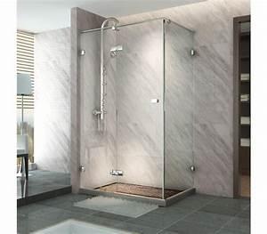 paroi de douche sur mesure pas cher simple paroi douche With porte pivotante douche italienne