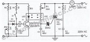 Automatic Lamp Dimmer Circuit