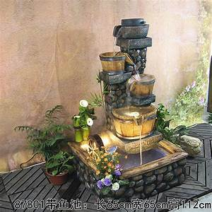 Hotels Water Fountain Wi Th Pump Fish Pond Feng Shui