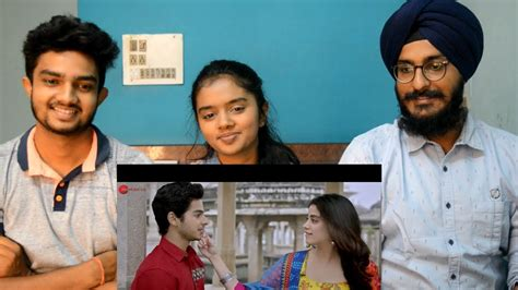 Dhadak Title Song Reaction Ft Thebrowndaughter