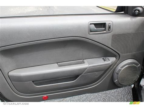 ford mustang gt premium coupe door panel
