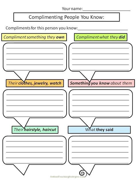 Great Worksheets For Social Skills Teaching!  Tools For Socialization  Pinterest Teaching