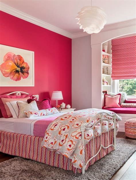 good  hot pink paint colors kids transitional
