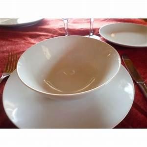 Assiette Creuse Blanche : assiette creuse calotte coupe leo diam 18cm en porcelaine ~ Teatrodelosmanantiales.com Idées de Décoration