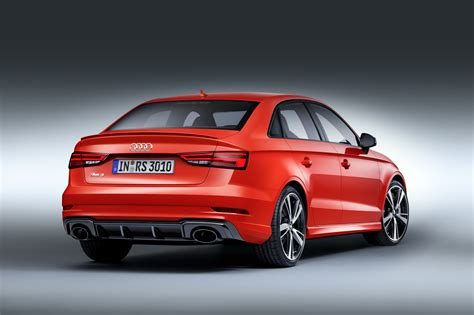 Audi Rs3 by Audi Rs3 Sedan Wants To Smash The Competition With Its 400