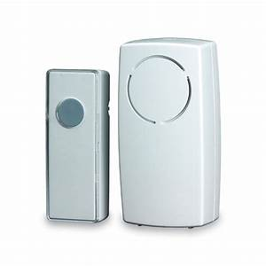 Blyss Wirefree White Door Chime