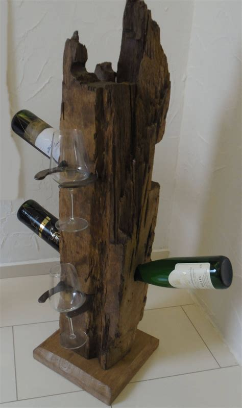 weinflaschehalter dagmara die extravagante aus alten