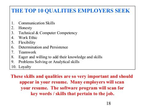 Qualities Of A Person To Put On Resume by Cover Letter And Resume Writing For High School Students