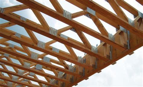 Universal Forest Products: Plated Floor Trusses