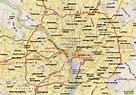 Washington dc District of Columbia Map and Washington dc ...