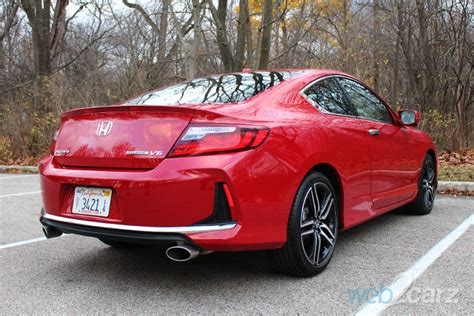 2016 Honda Accord Coupe Review by 2016 Honda Accord Coupe Touring Review Web2carz