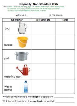 capacity  standard units   textbook tpt