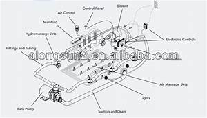 Ul Approval Spa Air Pump Air Blower