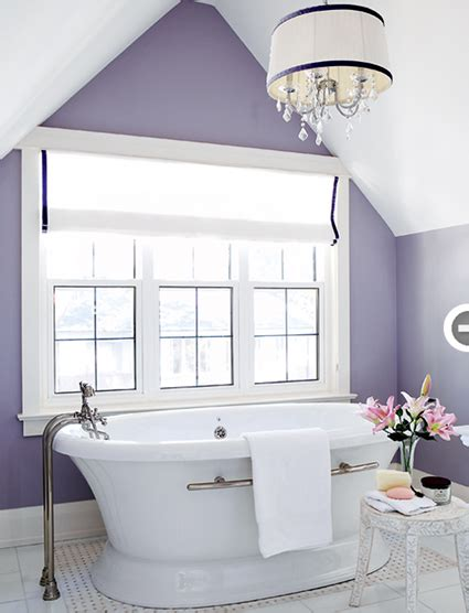 Purple Paint Colors For Bathrooms by Soft Periwinkle Walls Search Paint