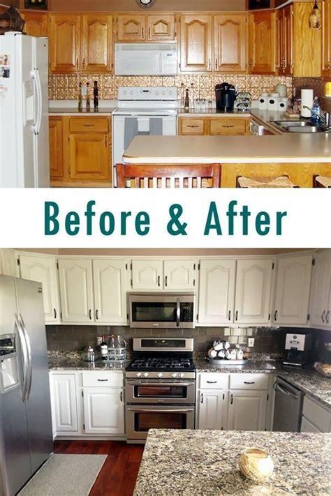 Diy Kitchen Cabinet Painting Ideas by Kitchen Cabinets Makeover Diy Ideas Kitchen Renovation