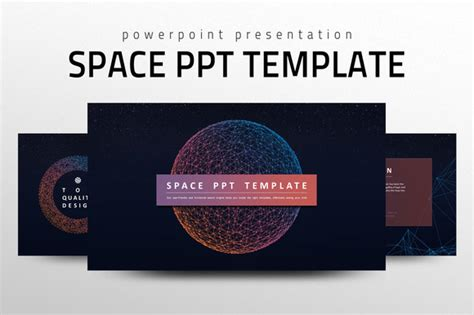 templates space powerpoint space ppt template presentation templates on creative market