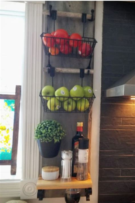 diy hanging fruit basket ideas  pictures unique