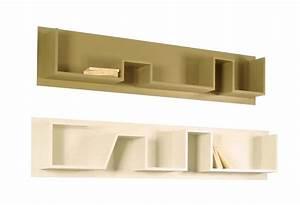 Etagere Bois Design : etagere murale design bois id es de d coration ~ Teatrodelosmanantiales.com Idées de Décoration