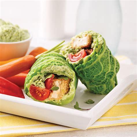 cuisine wrap wrap végétarien recettes cuisine et nutrition