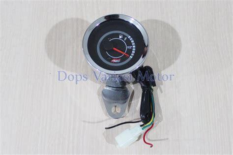 jual rpm fuel meter bensin jarum led indikator wilwood