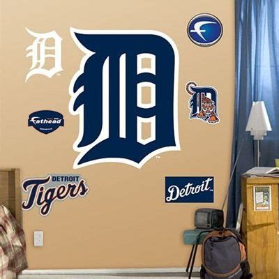 detroit tigers fathead quot olde english d quot wall decal home