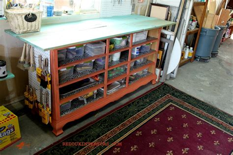 dressers missing drawers   repurpose