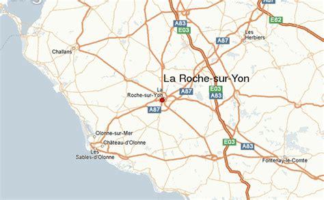maps la roche sur yon la roche sur yon location guide