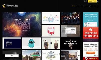 Website Web Css Awards Winner Websites Designs
