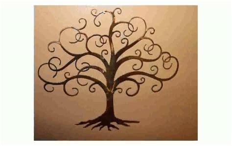 Tree Wall Decor Metal by Tree Of Metal Wall