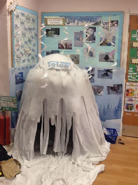 polar land role play area classroom display photo sparklebox