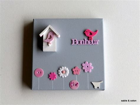 tableau pour chambre fille tableau pour chambre de bébé ou fille gris et avec