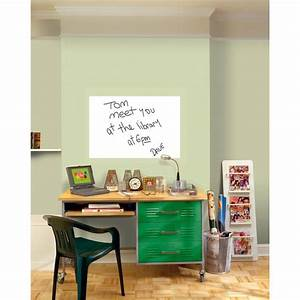 wallpops 36 in x 24 in dry erase whiteboard wall decal With kitchen colors with white cabinets with dry erase board sticker