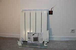 Comment Démonter Un Radiateur En Fonte : tuto installation d 39 un radiateur lectrique acova ~ Premium-room.com Idées de Décoration