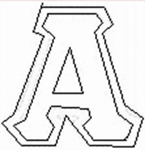 greek letter stencils delta phi epsilon pinterest With greek letter cutouts
