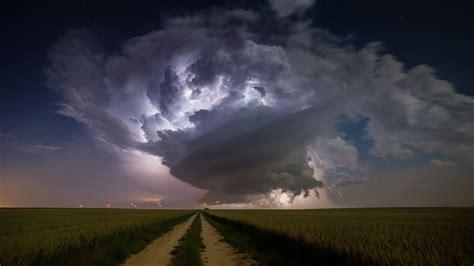 nature landscape clouds supercell nature storm