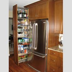 Pullout Pantry Cabinet  Home Design, Garden