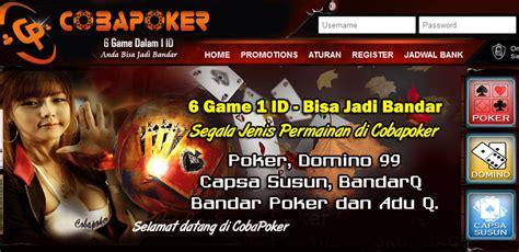 Cobapk Situs Poker Online Uang Asli Terbaru