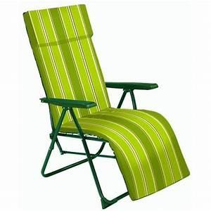 Fauteuil Jardin Pas Cher : chaise relax jardin l 39 univers du jardin ~ Teatrodelosmanantiales.com Idées de Décoration