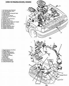 Mazda B2200 Engine Wiring