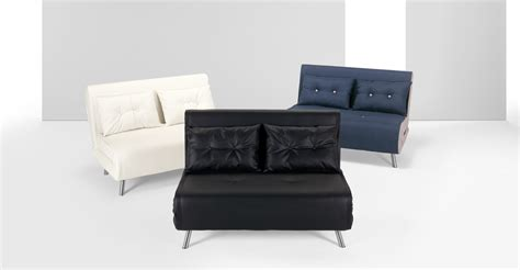 Small Black Loveseat by Haru Small Black Sofa Bed Made