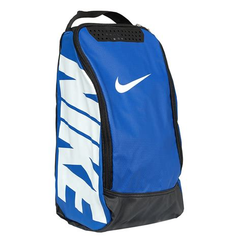 athletic bag with shoe compartment nike team shoe bag blue