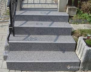 Treppenstufen Stein Außen Verlegen : marmorix steinteppich verlegebeispiele treppen ~ Orissabook.com Haus und Dekorationen
