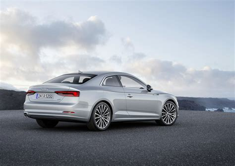 a5 coupe 2017 official 2017 audi a5 coupe s5 coupe